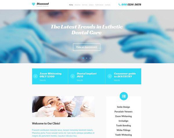 dental clinic website templates website templates dentist website templates websitetemplates