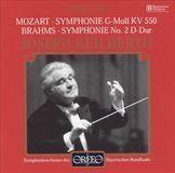 Mozart: Symphony No. 40; Brahms: Symphony No. 2 [CD]