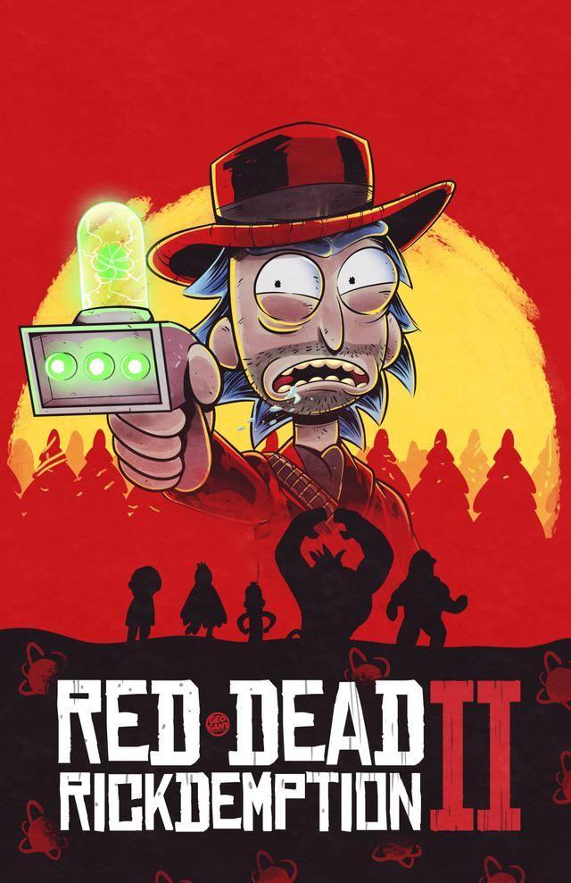 Red Dead Rickdemption [OC] rickandmorty rick picklerick
