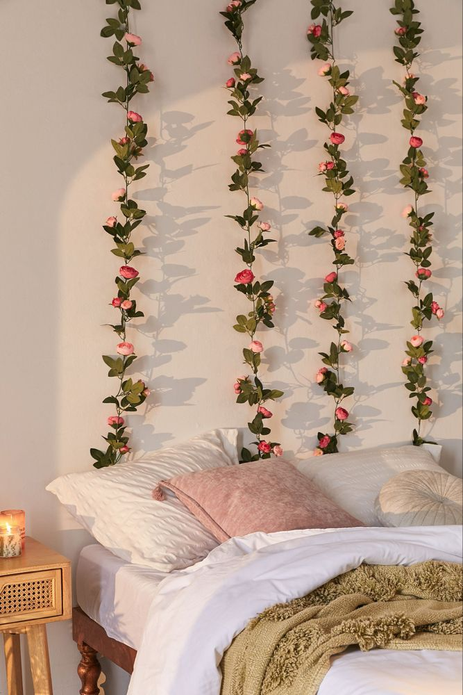 Decorative Rose Vine Garland (With images) | Aesthetic ... on Vine Decor Ideas  id=98964