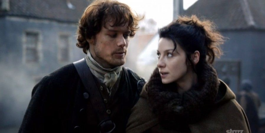Outlander: Claire…er, Caitriona Chats with Fans  - Today is Claire Beauchamp Randall Fraser's 97th birthday! And in honor of that, Caitriona Balfe answered questions on Twitter. (Note: There are some answers for which the questions seem to have disappeared, so those aren't included here… sorry!) Q Claire (like you) is a witty lass – what has been your favourite line of Clarie's …