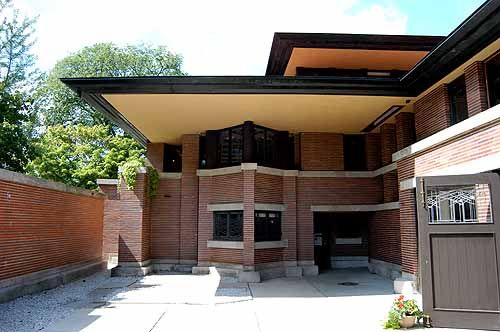 The Frederick C. Robie House 1908, Frank Lloyd Wright