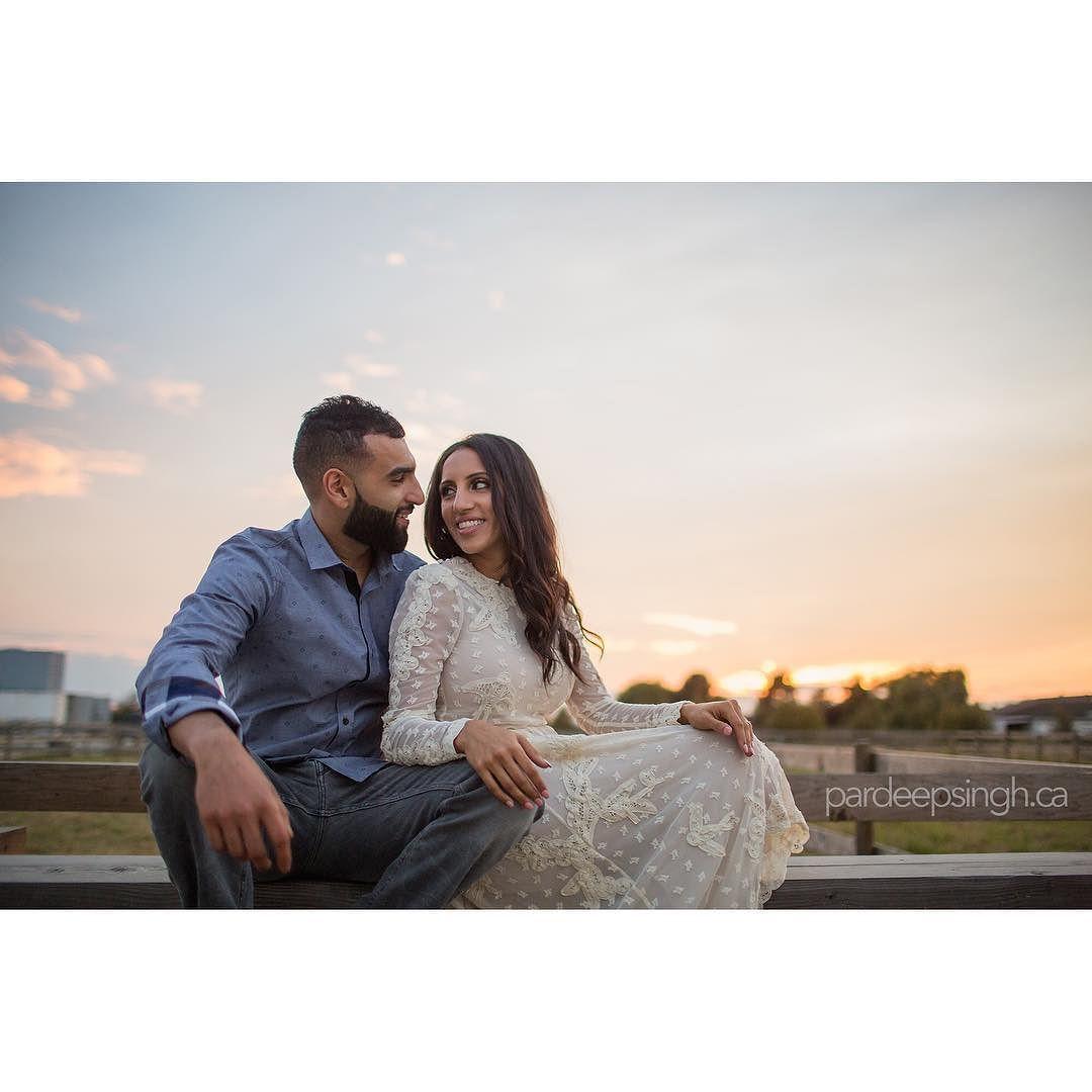 great vancouver wedding Lucky & Raj #weddingphotographer #wedding #vancouverweddingphotographer #punjabiwedding #indianwedding #indianweddingphotographer #engagement #engagementphotos #sunset #delta #ladner #farm by @pardeepsingh  #vancouverengagement #vancouverindianwedding #vancouverwedding #vancouverwedding