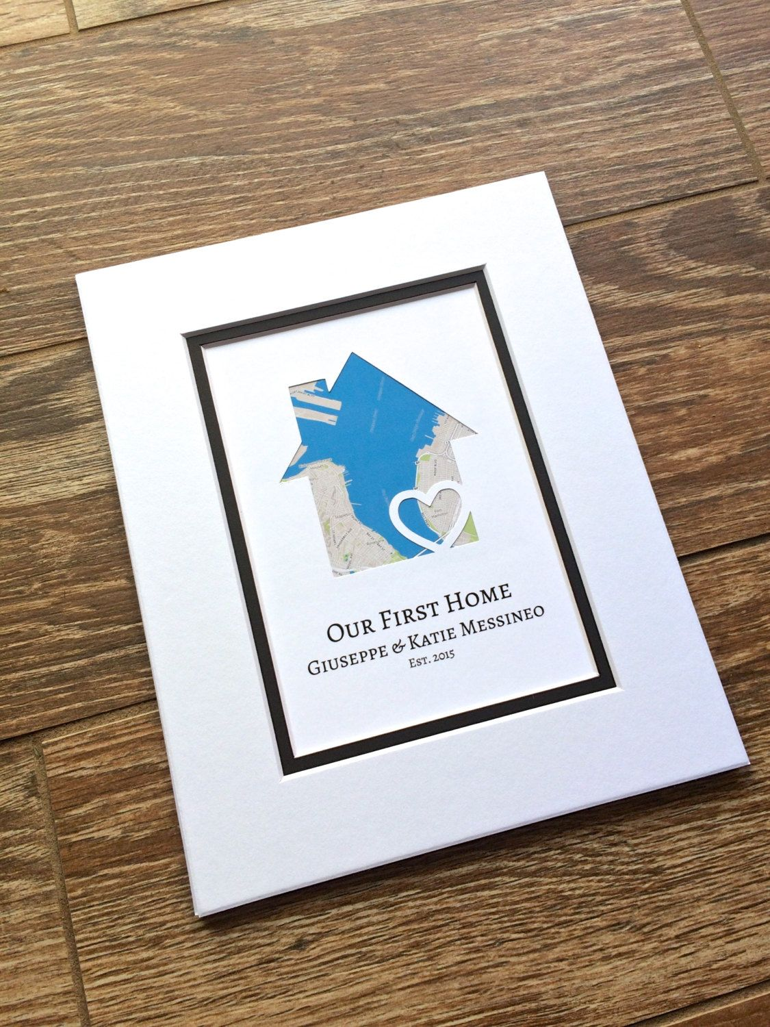 Our First Home Gift Gift For Families Family Gift Personalized