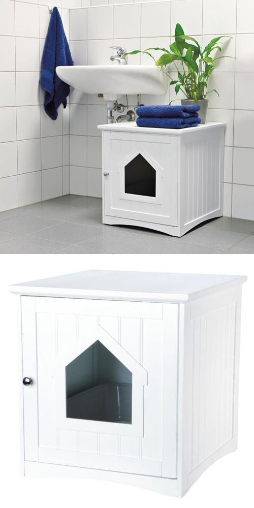 covered cat litter box furniture. Animals Cats: Enclosed Cat Litter Box Furniture Hidden Wooden Covered Large Kitty Enclosure -\u003e
