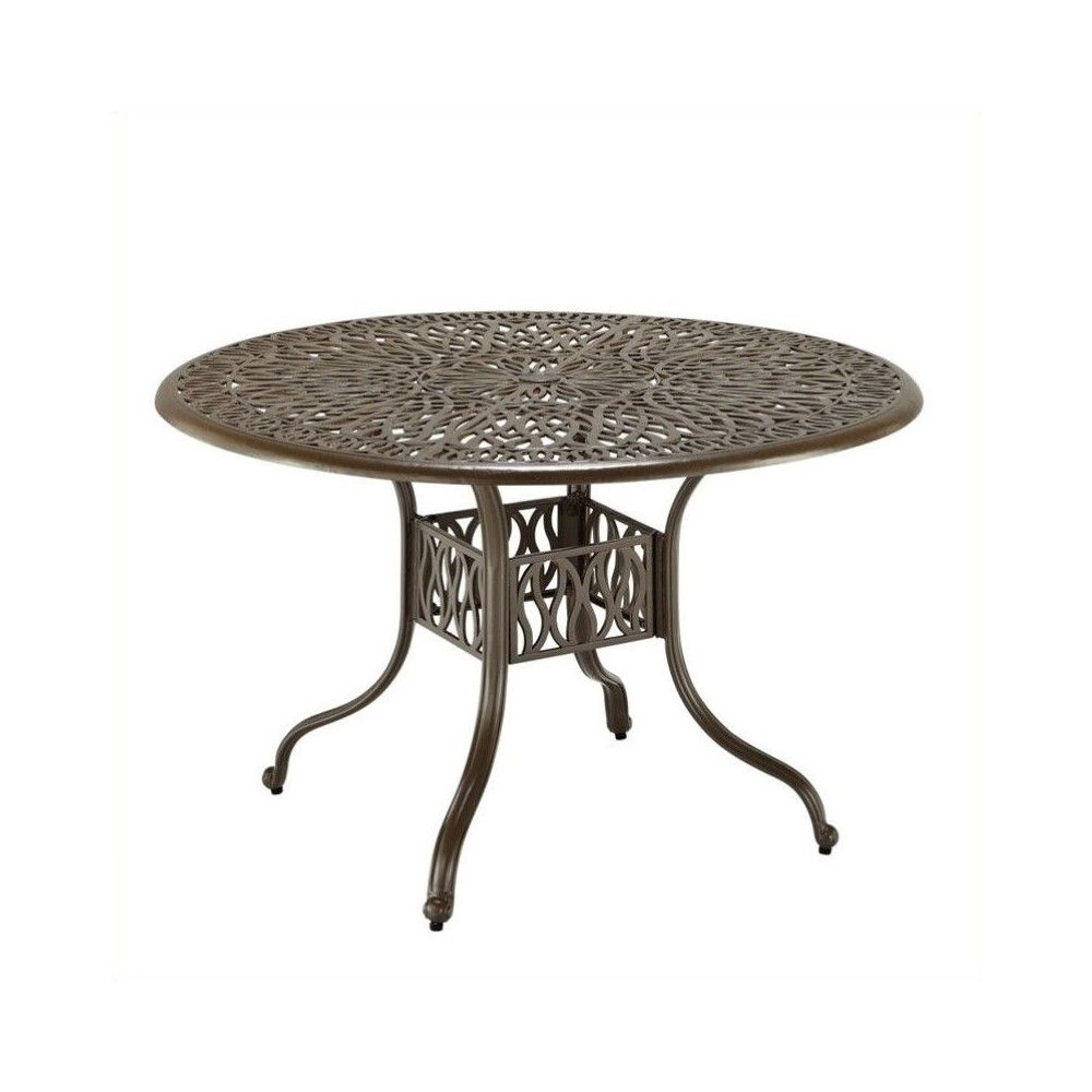 Floral Blossom 42 Inch Round Dining Table Home Styles Products