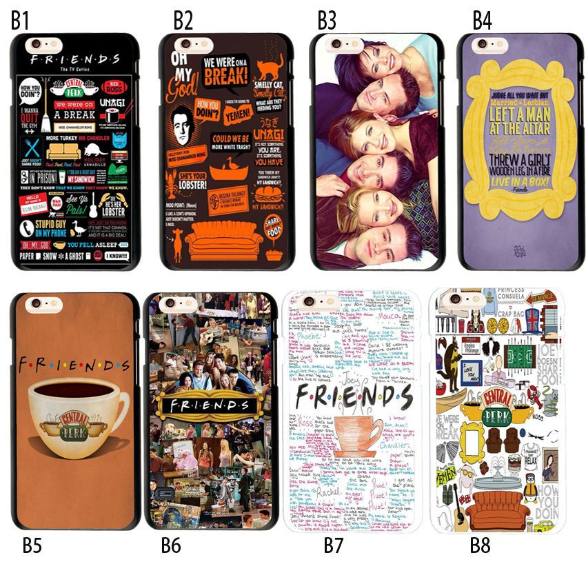 7.19AUD - Friends Tv Show Collage Design Case Soft Tpu Cover For ...