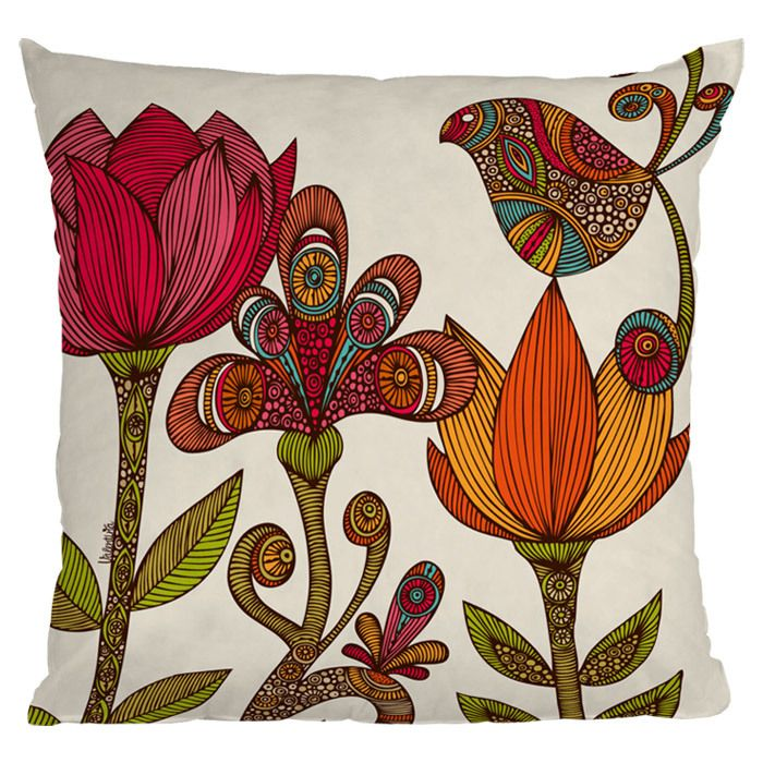 Valentina Ramos In The Garden Throw Pillow - Deny Designs on Joss and Main