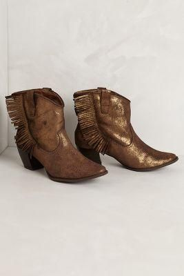 Zousa Fringe Booties