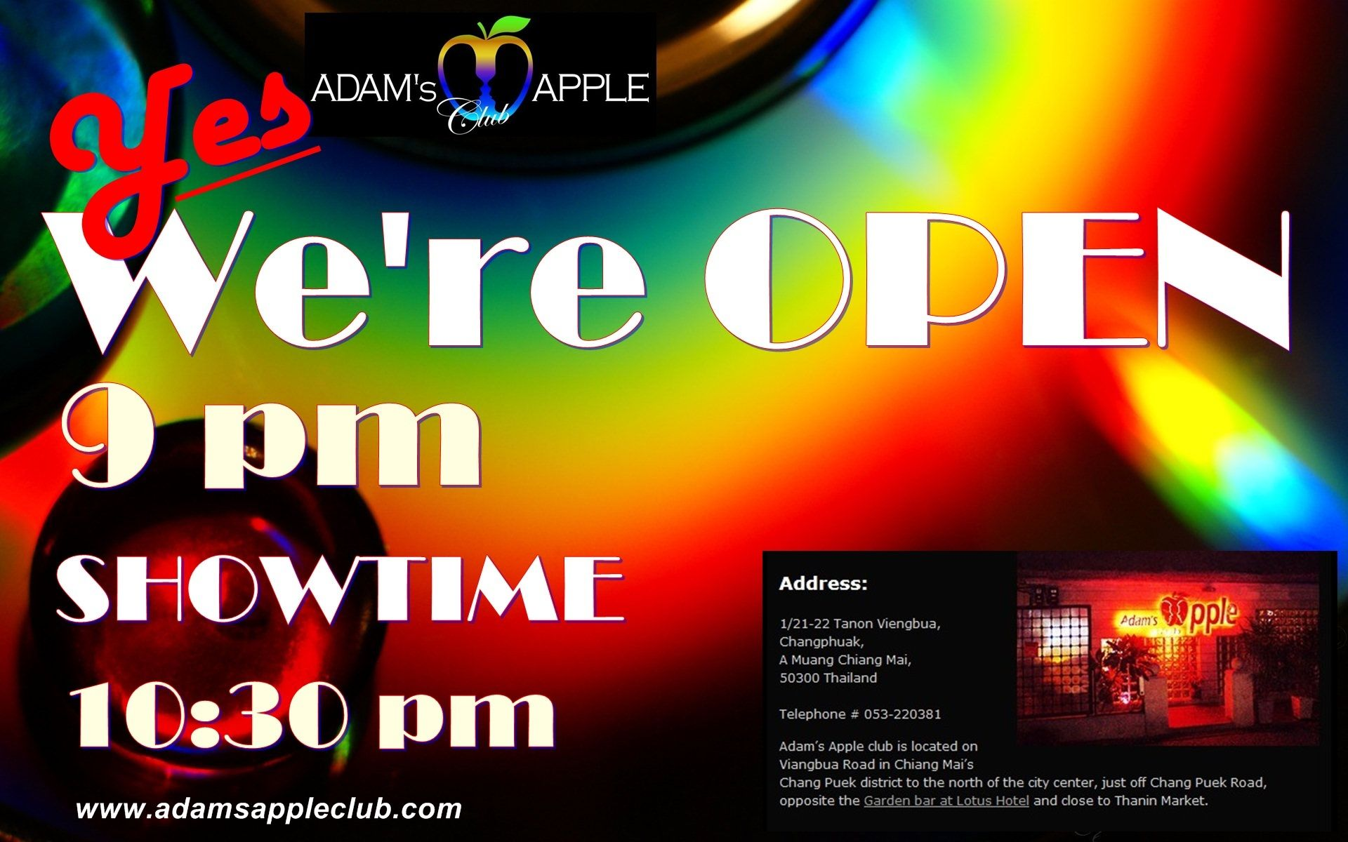 We Re Open Tonight 9 Pm And Our Show Start 10 30 Pm Free Entry