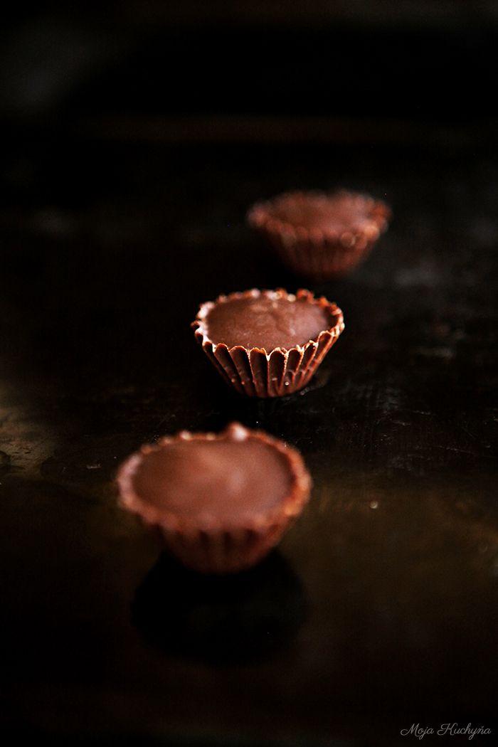 Moja kuchyňa: Arašídové košíčky - peanut butter cups