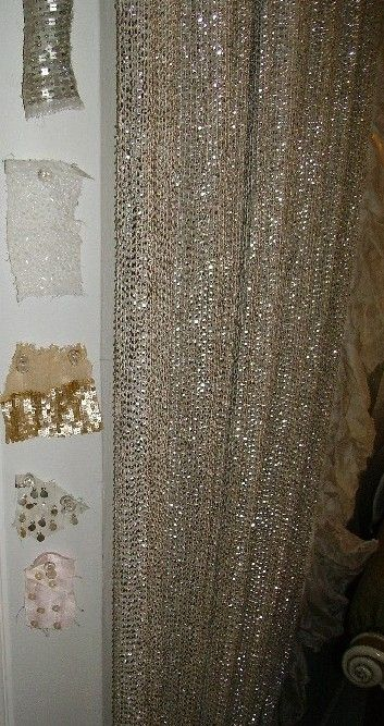 My Craft Room Will Need A Sparkly Curtain Oh Yes Sparkles Are Important