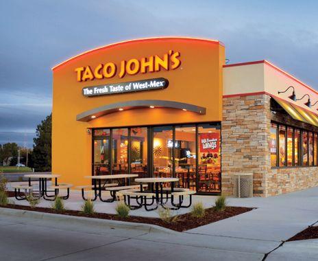 Taco John S Cheyenne Wy Fast Food Restaurant Wyoming Exterior