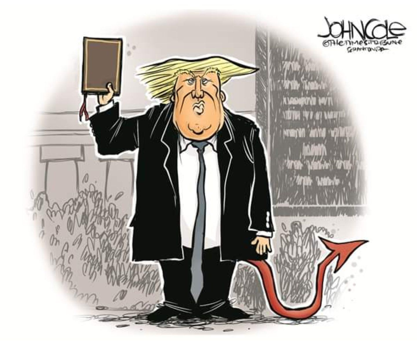 Pin on Trump cartoons
