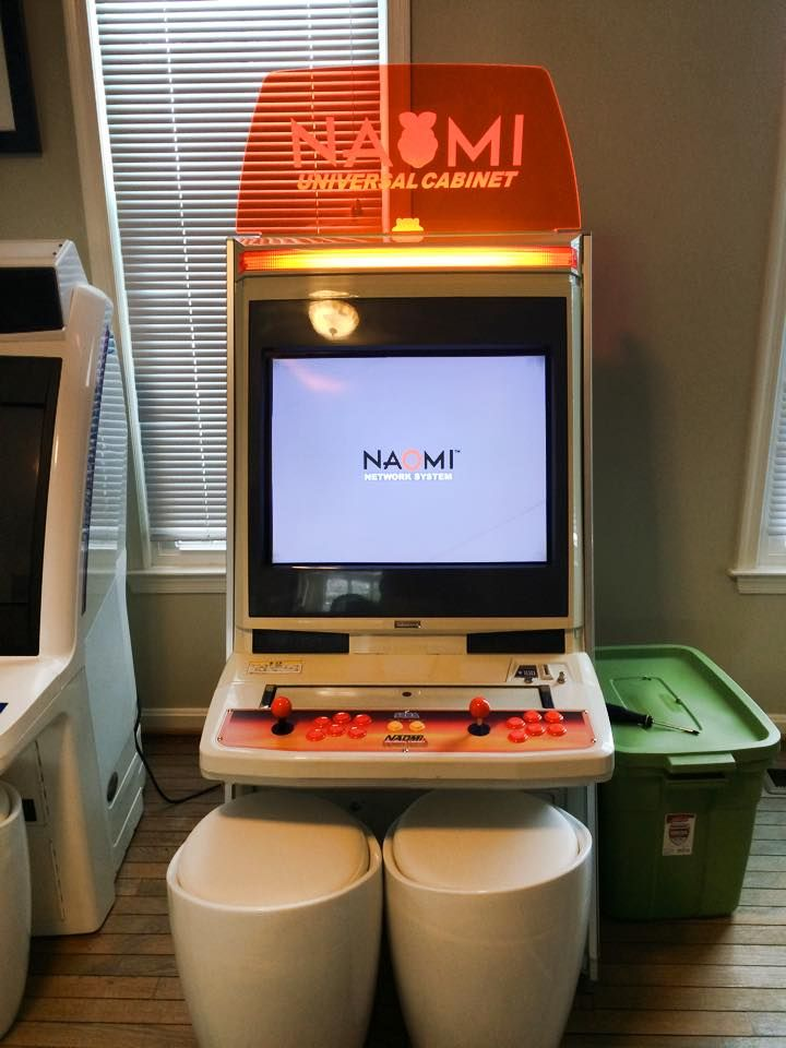 A friend's Naomi Cabinet, its using a netdimm networked to a ...
