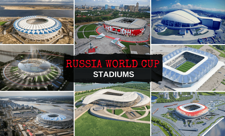 Fifa World Cup 2018 Stadiums Guide World Cup Stadiums World Cup Russia World Cup