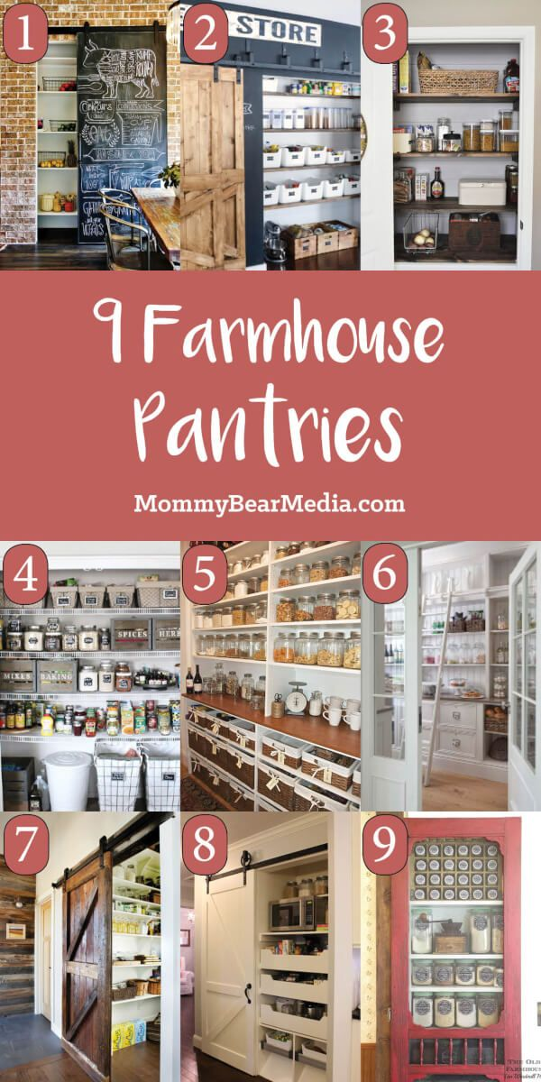 Best 9 Of My Favorite Farmhouse Pantry Ideas Best Farmhouse 400 x 300
