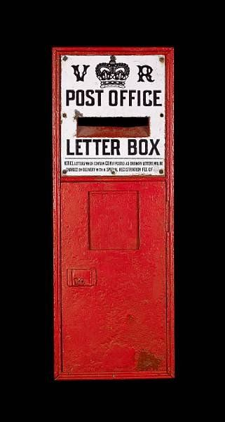 Post Office Memorabilia Wall Post Box Post Box Post Office Mail Post