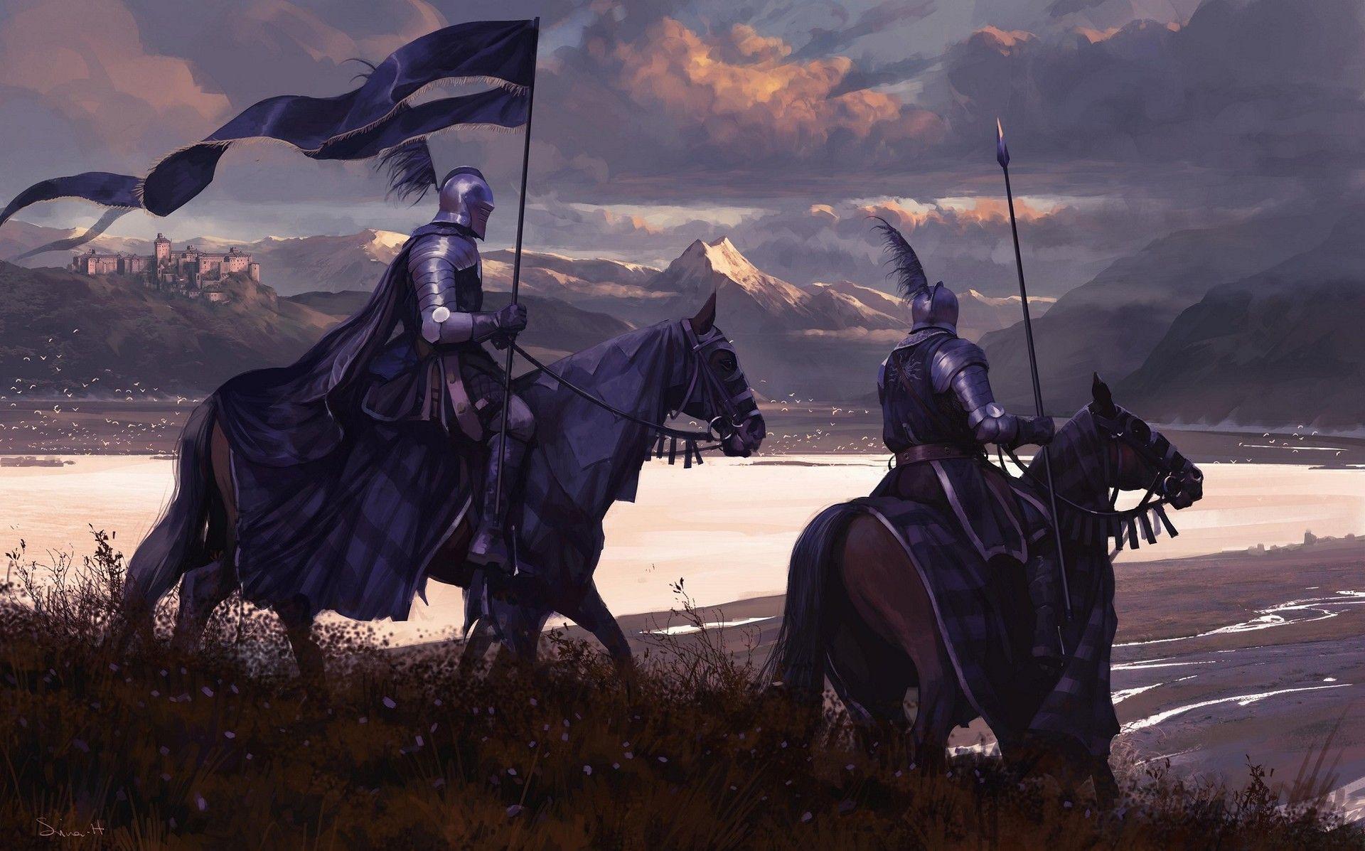 картинки рыцарей средневековья на рабочий стол вы