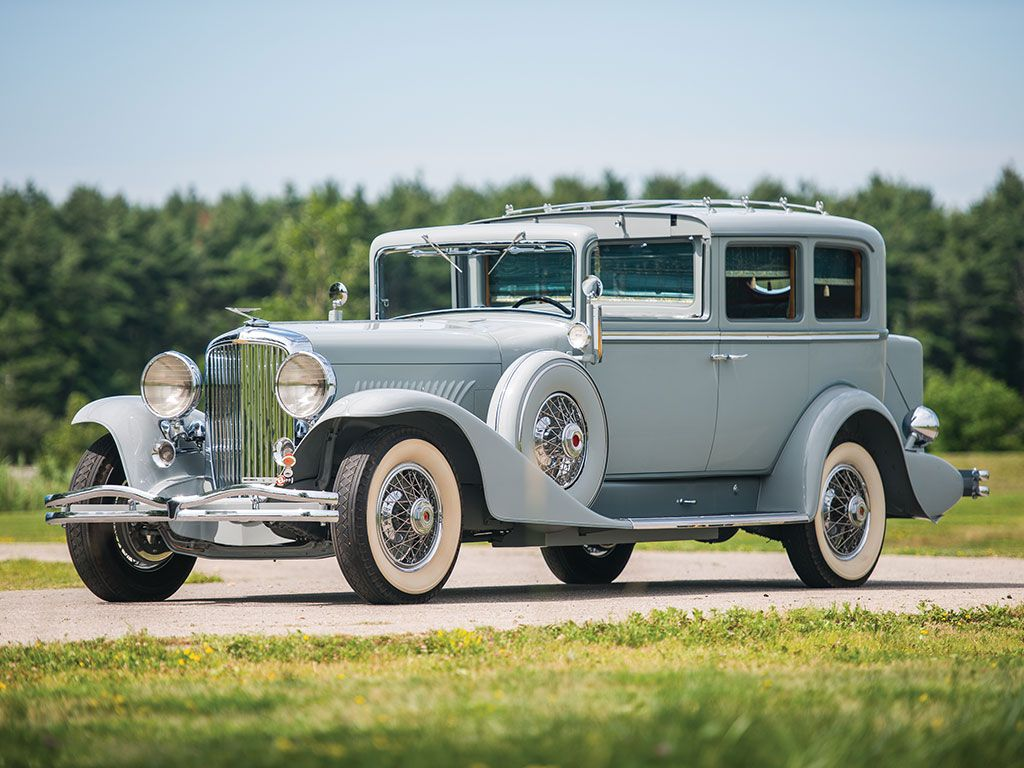 1932 Duesenberg Model J Town Car by Kirchhoff | Hershey 2017 | RM ...