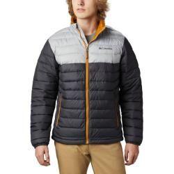 Photo of Columbia Men's Powder Lite Jacket, size S in Shark, Columbia Gray, size S in Shark, Columbia Gray