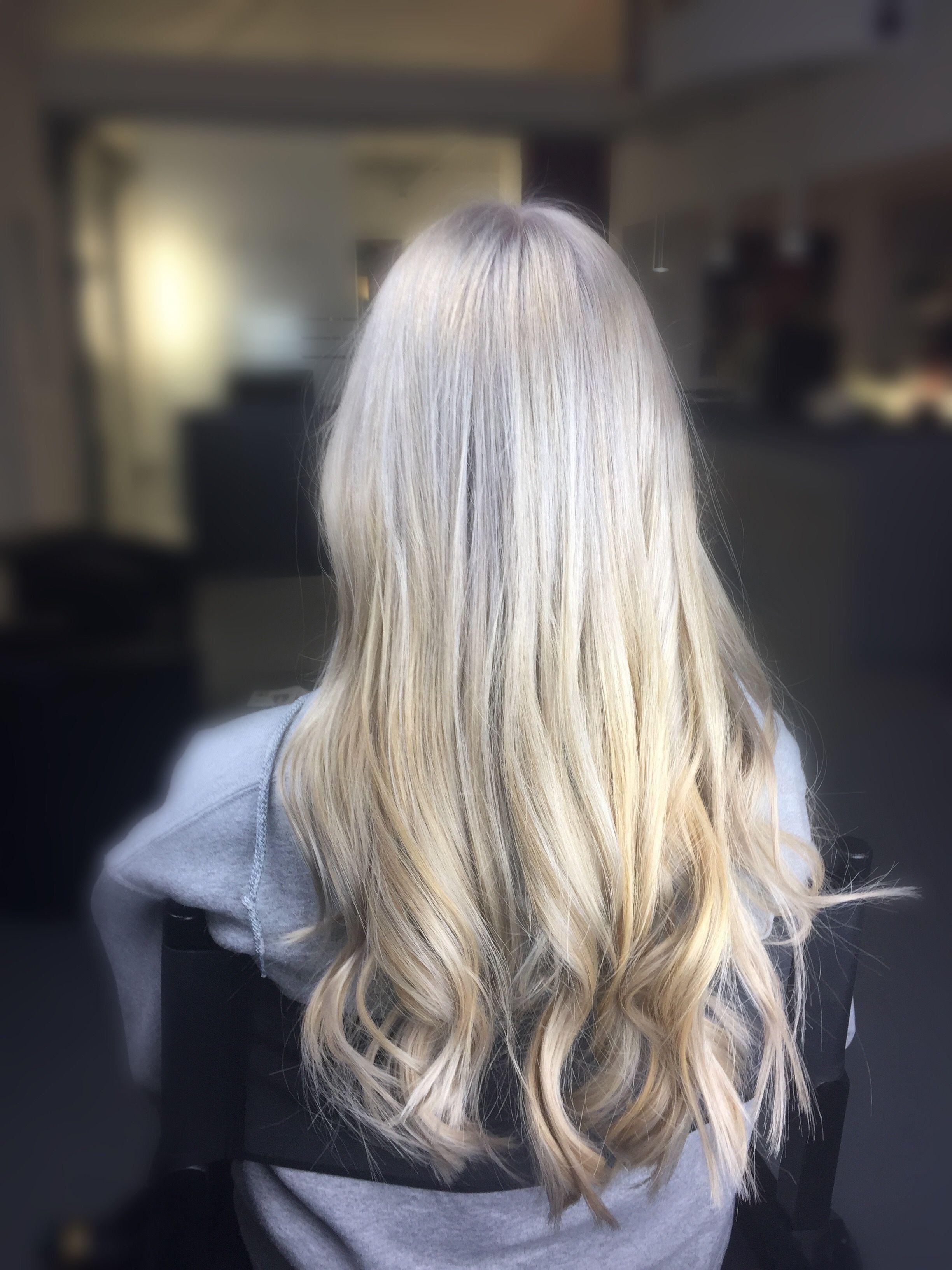 My hair ❤ #silverblond