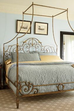 metal-canopy-bed & metal-canopy-bed | Furniture | Pinterest | Metal canopy bed Metal ...