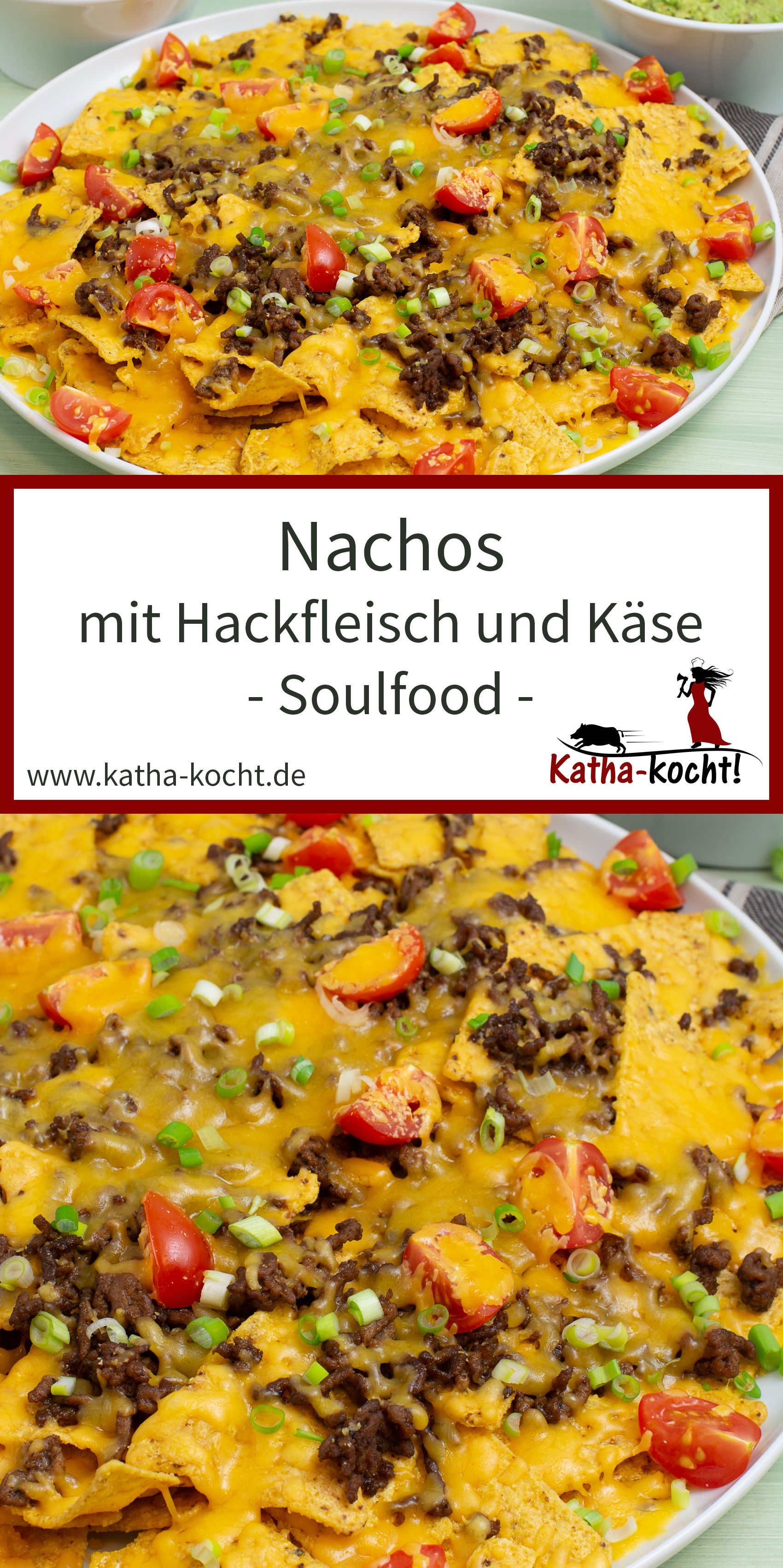 Photo of Nachos with minced meat and cheese