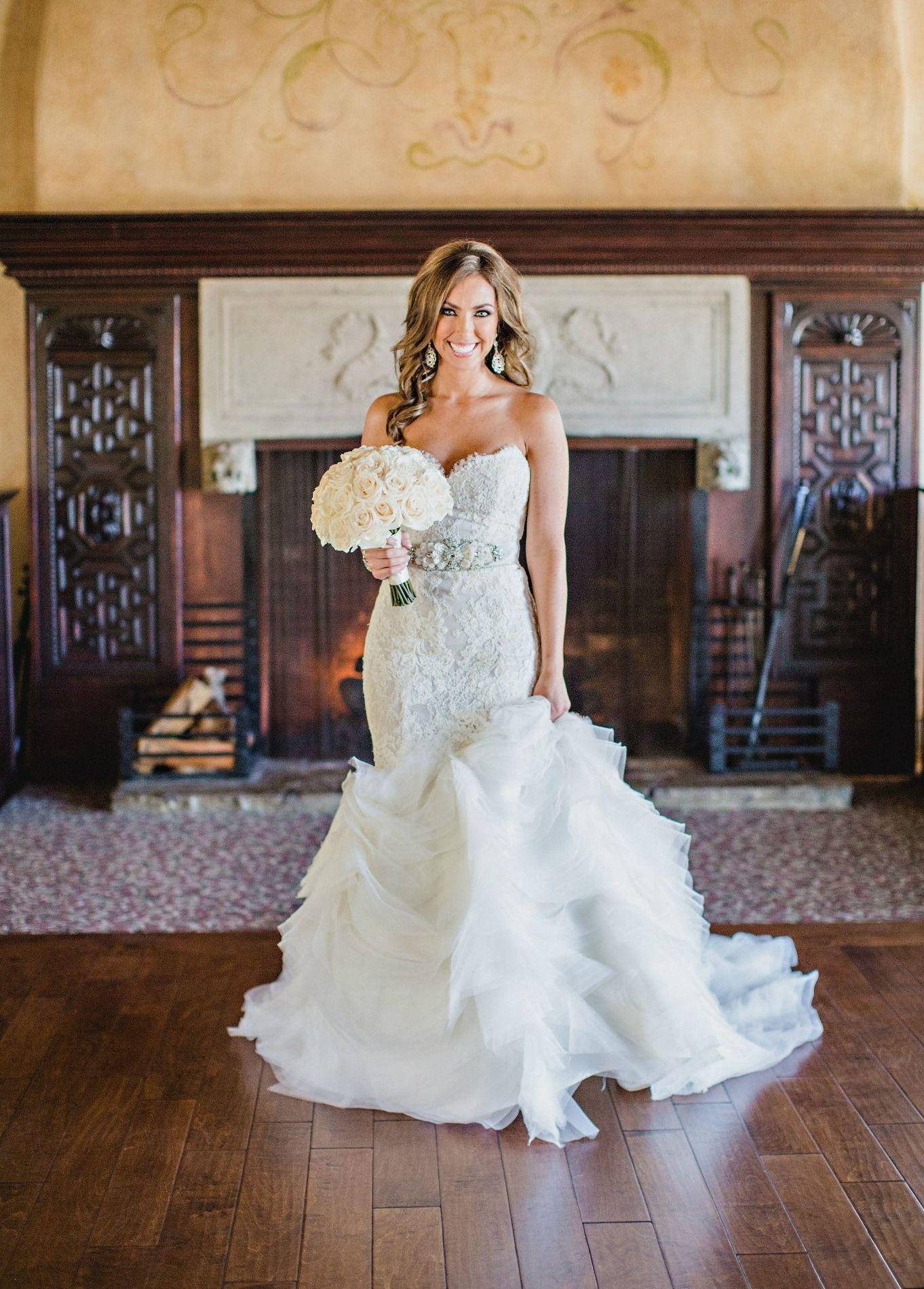 Lazaro Wedding Dress 3201