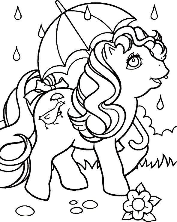 Dibujos para Colorear Mi pequeño Pony 3 | Dibujos para colorear para ...