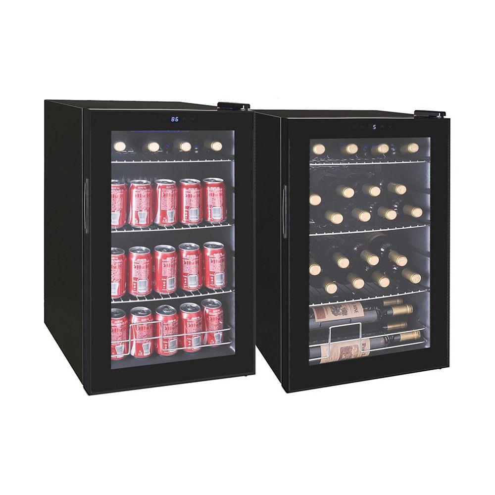 RCA wine cooler fridge beverage cooler 4 bottle