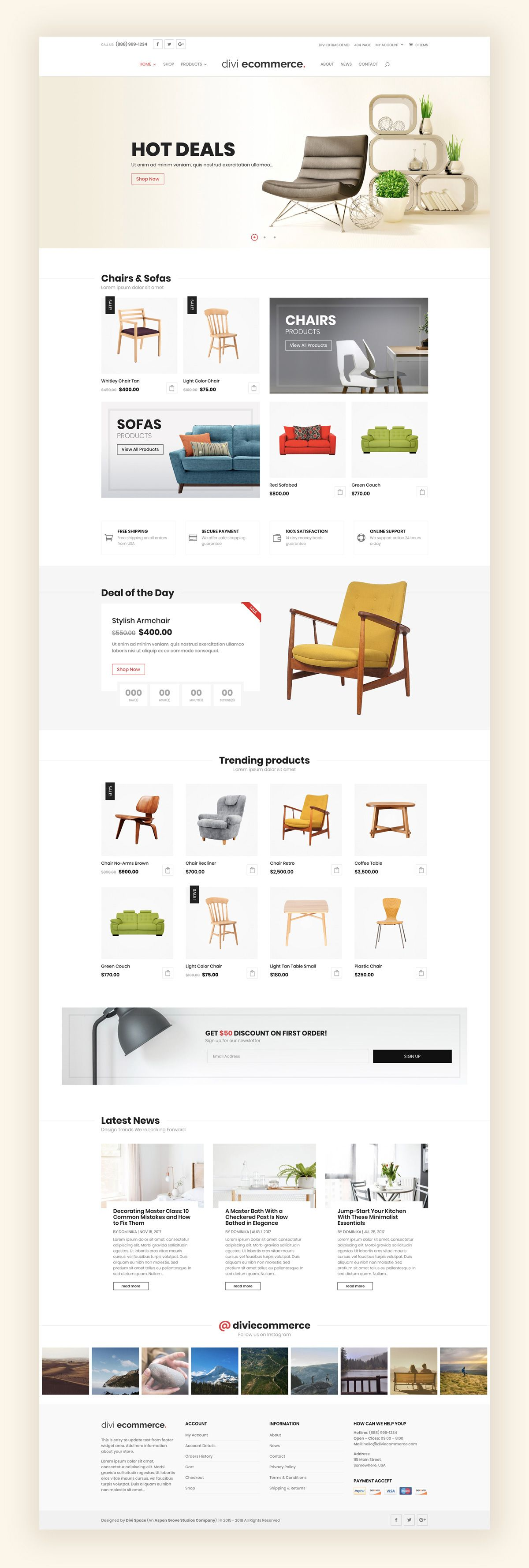 Best Divi Child Themes For Your Woocommerce Site Ecommerce