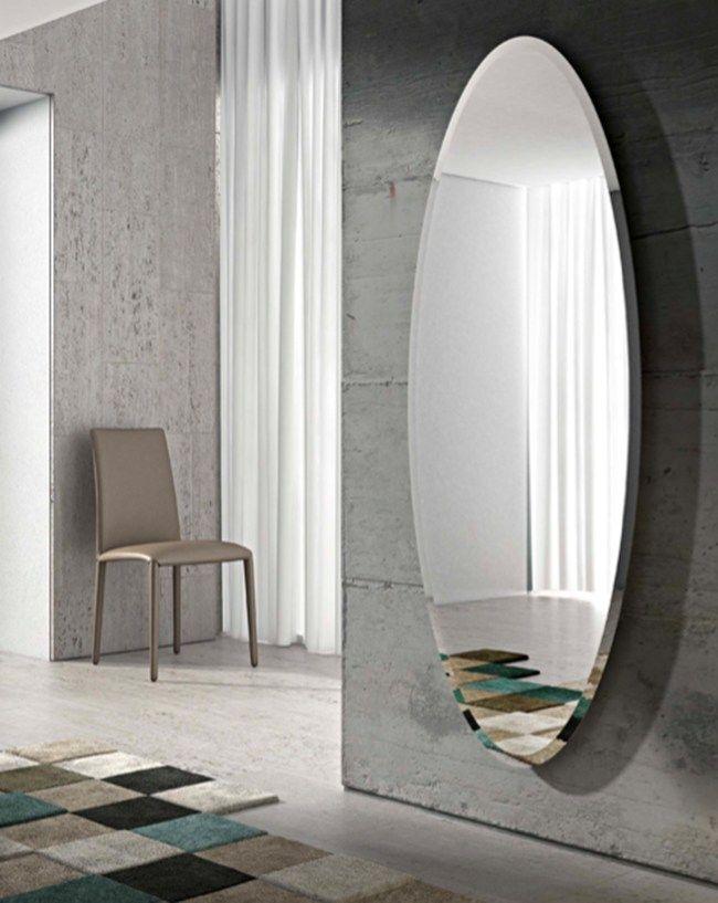 Specchio ovale a parete ionico by riflessi design riflessi - Telefoni a parete ...