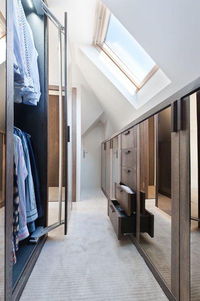 8 idee per un piccolo spogliatoio in mansarda ...