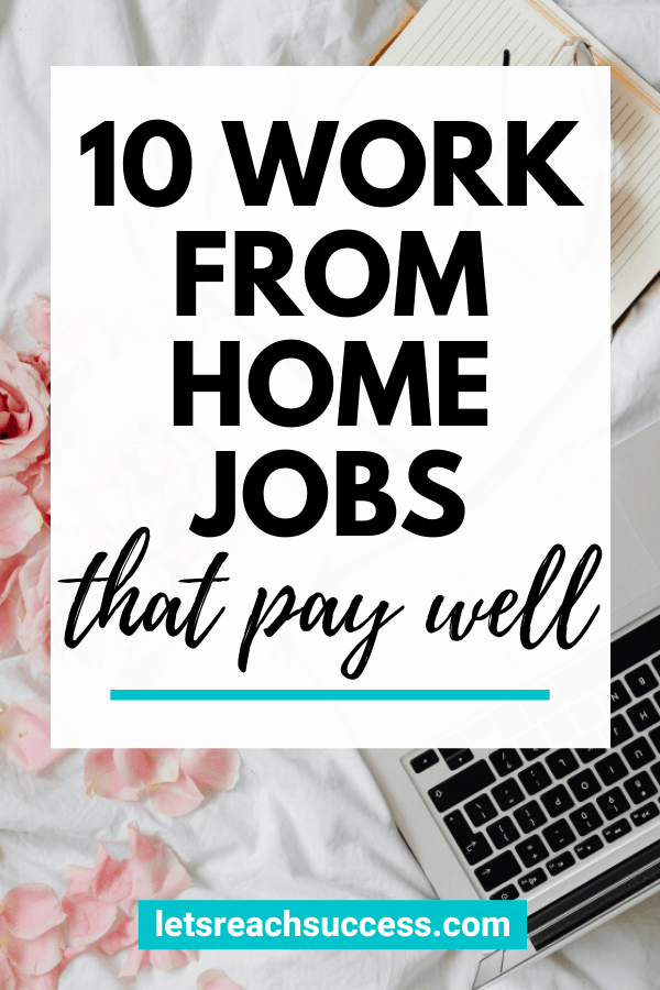 10 Best Real Work from Home Careers