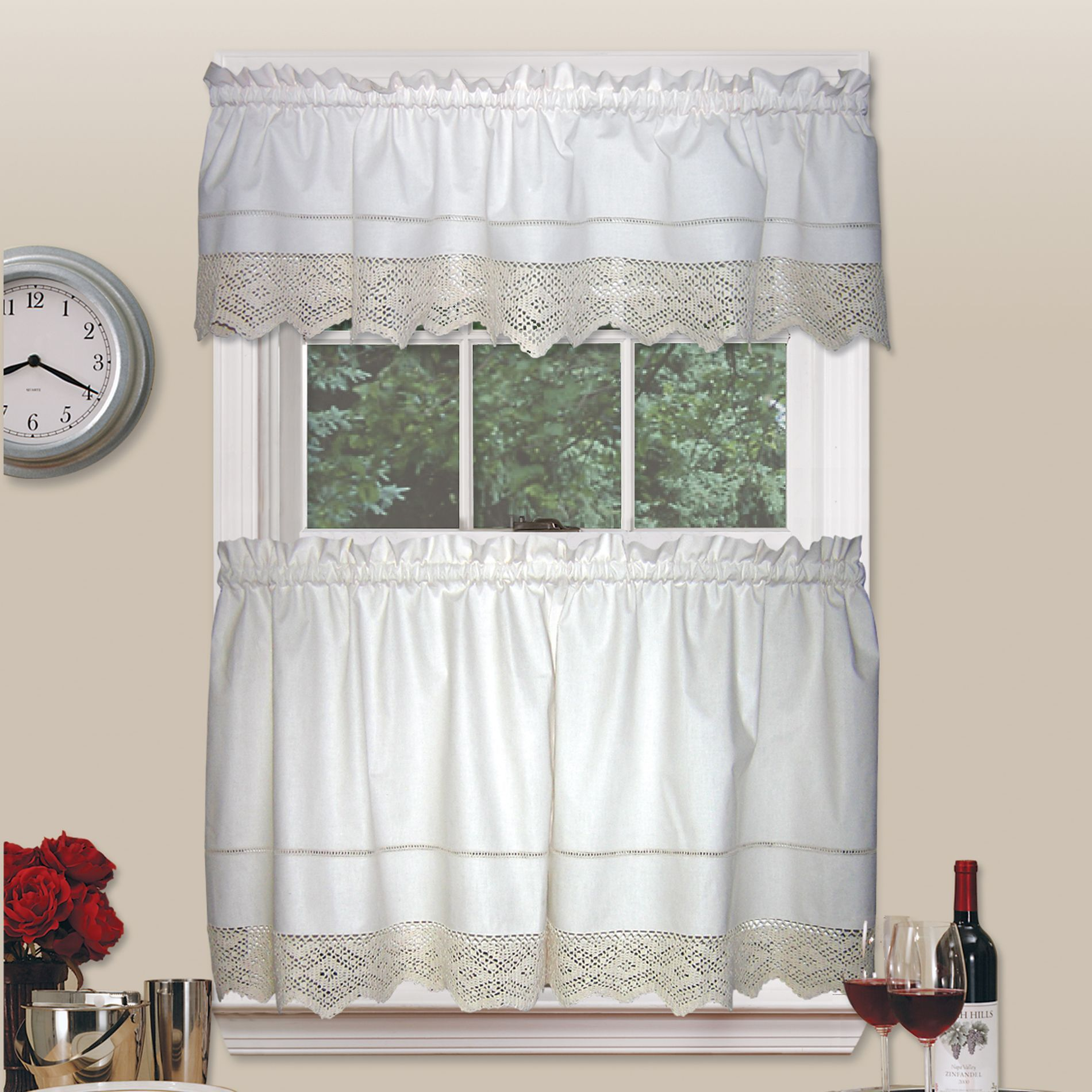 tier kitchen window buffalo moose homes log cafe treatments rustic shop curtain woodland everything curtains check