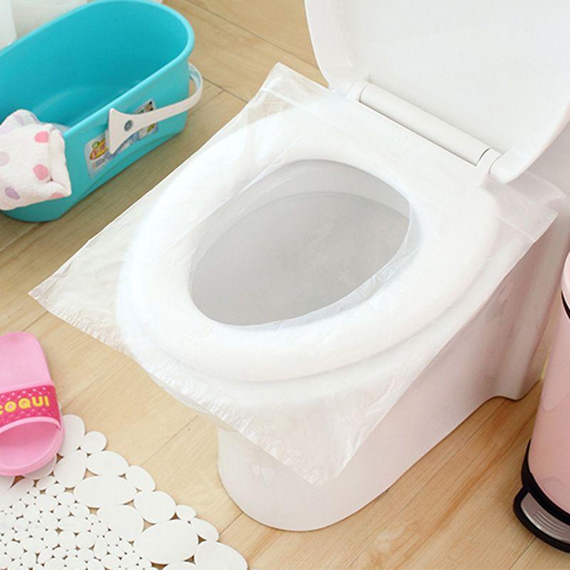 10 unids/lote seguridad en los viajes de plástico desechable asiento del inodoro tapa a prueba de agua en Cubierta de Asiento de inodoro de Hogar y Jardín en AliExpress.com | Alibaba Group