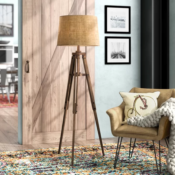 Ailis 62 25 Tripod Floor Lamp With Images Tripod Floor Lamps