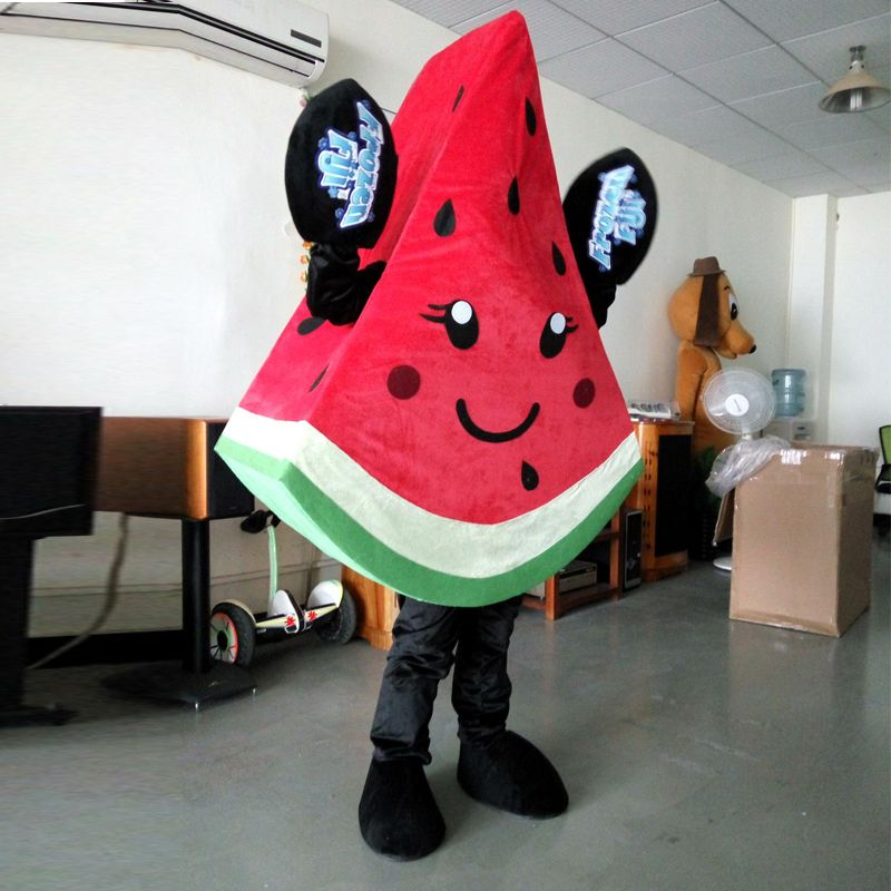 fa87f0d21036d Ohlees Actual real Picture character cartoon watermelon fruit mascot ...
