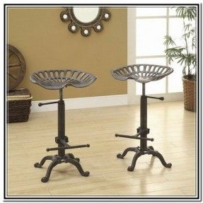 Cast Iron Bar Stools Vintage Jpg 287