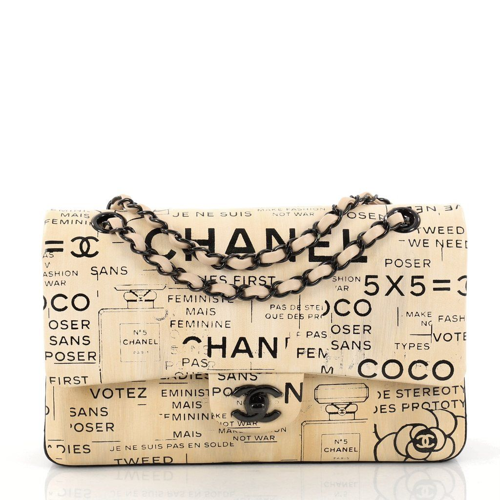 f681d104ad38 Buy Chanel Classic Double Flap Bag Limited Edition Hand 2910901 – Rebag