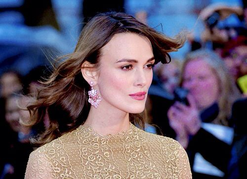 Keira Knightley attends the opening night gala screening of 'The Imitation Game' during the 58th BFI London Film Festival at Odeon Leicester Square on October 8, 2014 in London, England.