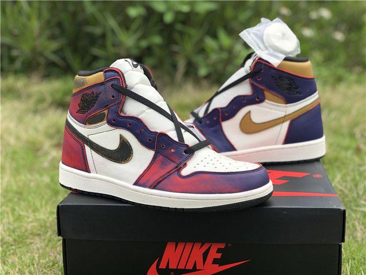 factor Selección conjunta Camino  Air Jordan 1 Nike SB Lakers Chicago Court Purple Sneaker 2019 Sale | Air  jordans, Nike, Nike dunks
