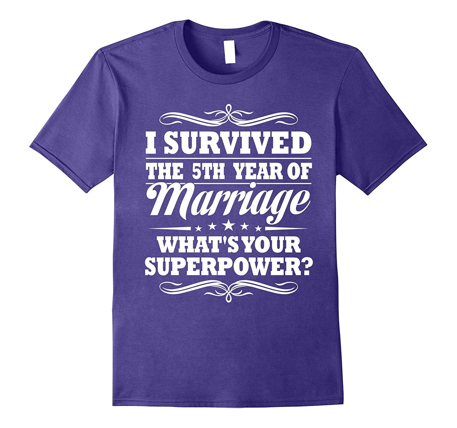 5th Wedding Anniversary Gift Ideas For Husband: 5th Wedding Anniversary Gift Ideas For Her Him- I Survived