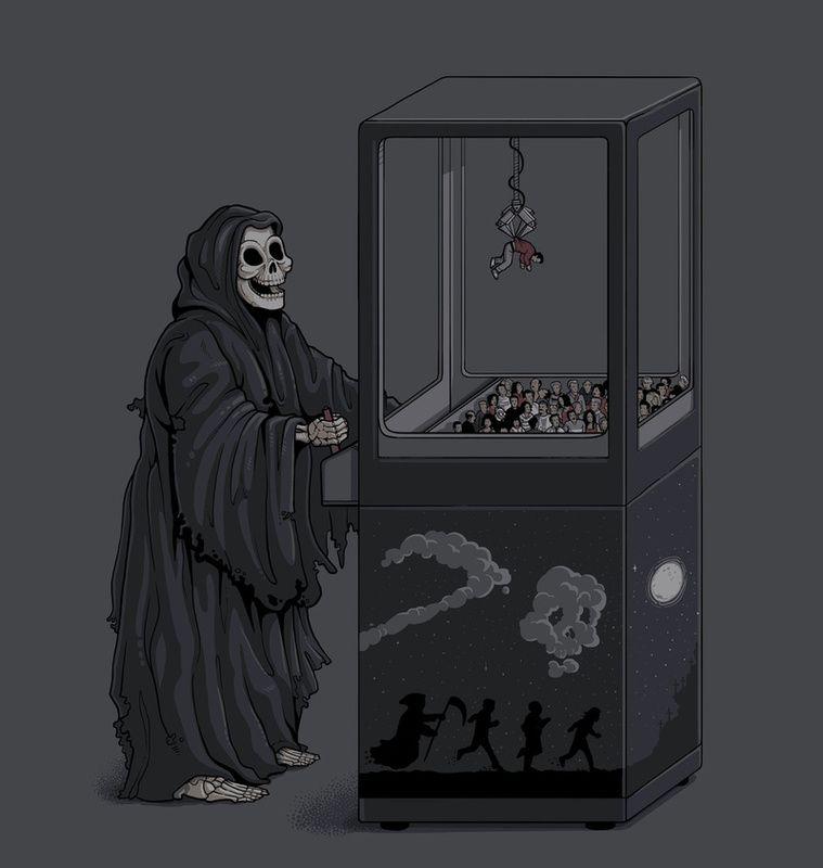 Самые смешные картинки смерти, для оформления