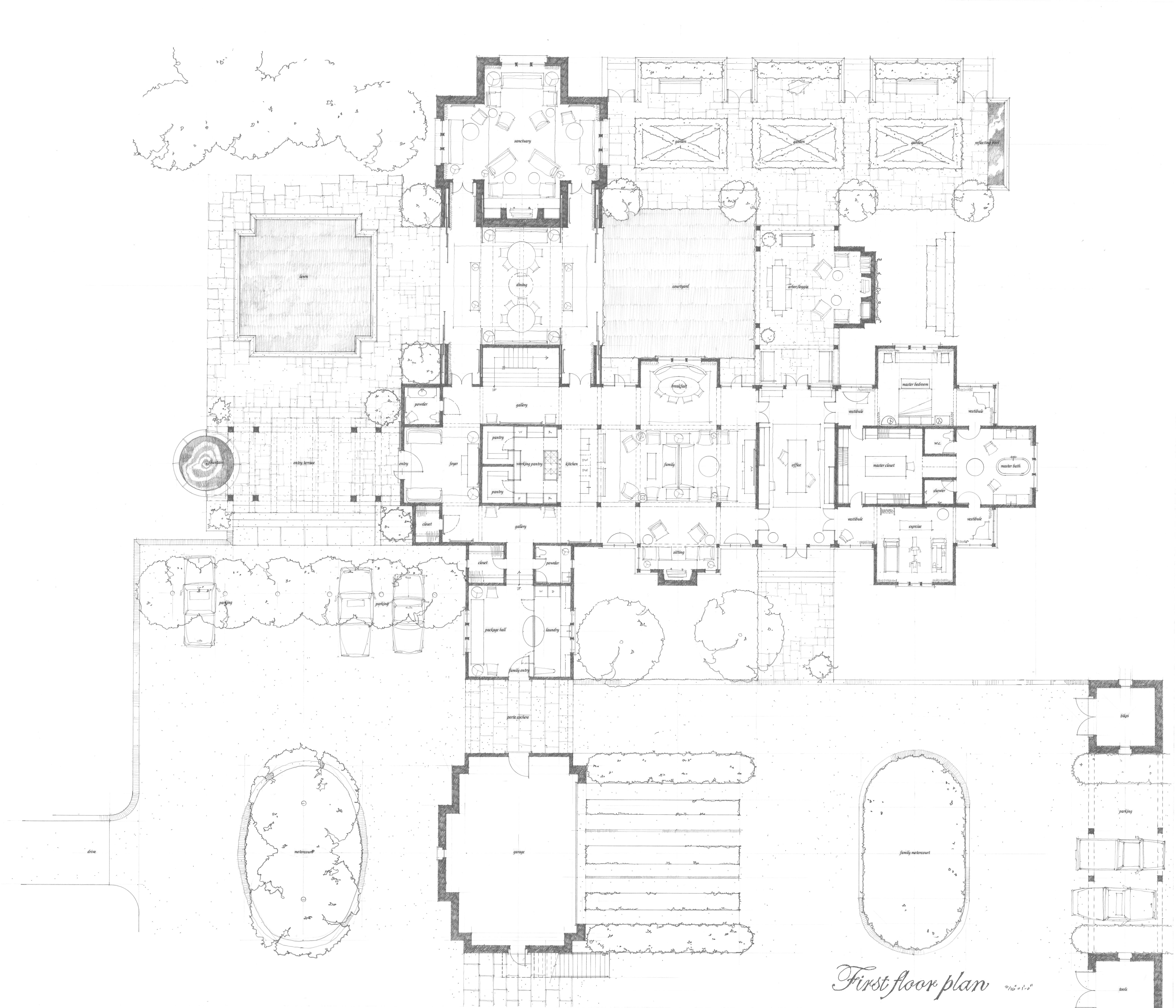 images about Floor plan on Pinterest   Floor Plans       images about Floor plan on Pinterest   Floor Plans  Courtyards and House plans