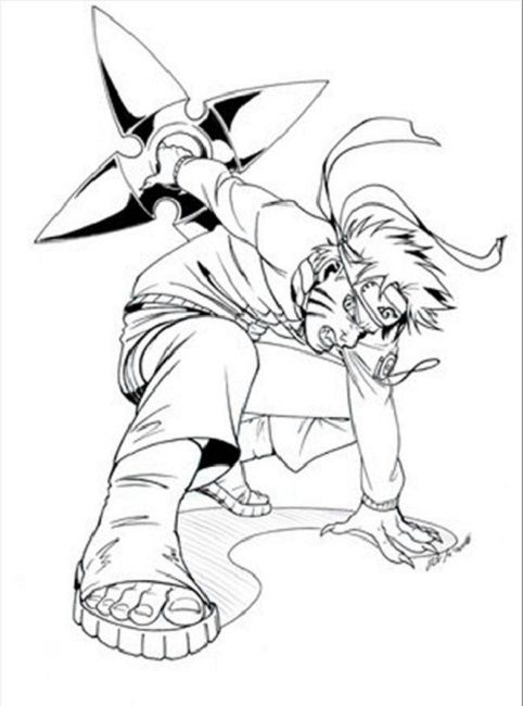 naruto coloring pages printable Coloring Pinterest Naruto