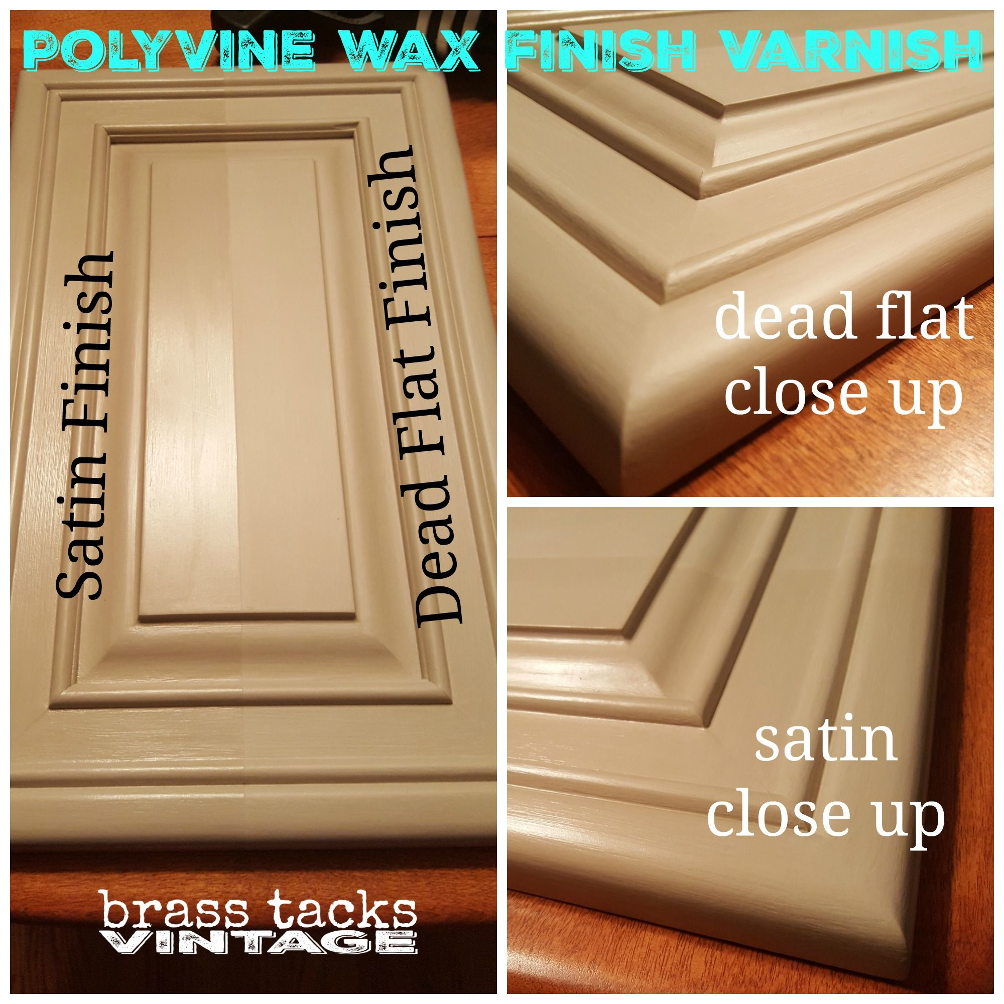 Polyvine Wax Finish Varnish Satin Dead Flat Comparison Polyvine Waxfinishvarnish Brasstacksvintage Brass Tacks Unique Items Products Townhome Decorating
