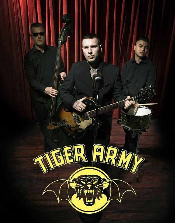 Tiger Army - Psychobilliy   Punk music, Music love