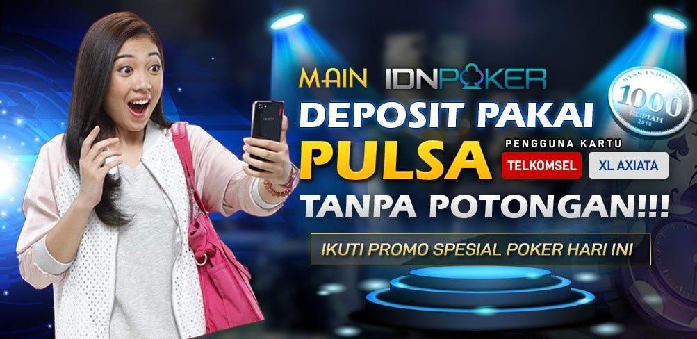 Deposit Poker Pulsa Tanpa Potongan Poker Kartu Pengetahuan